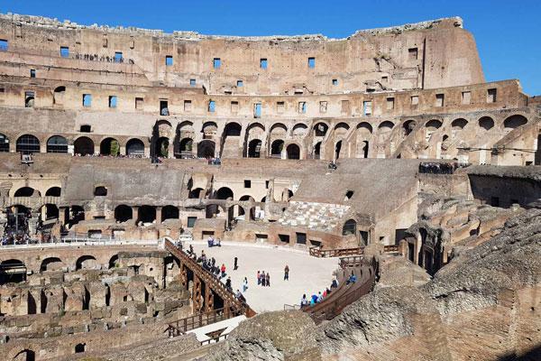 Colosseum, Arena, Undergr