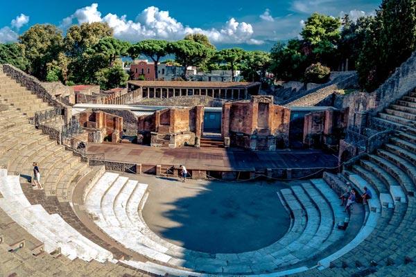 Bussresa till Pompeji - E