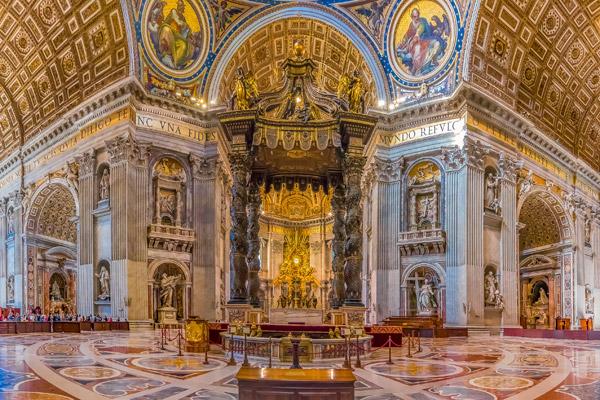 Den ultimata Vatikanture
