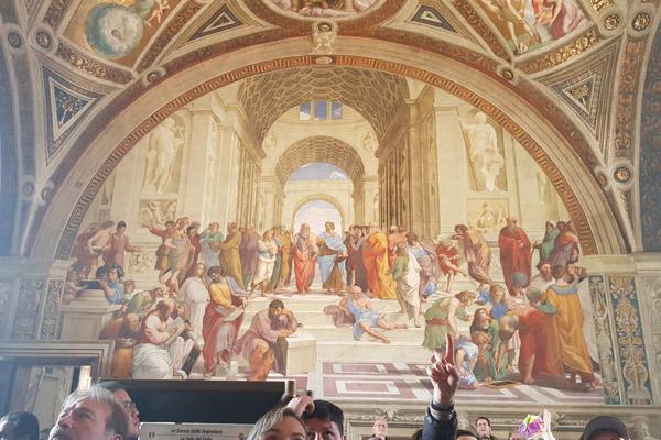 Vatikanmuseerna och det S