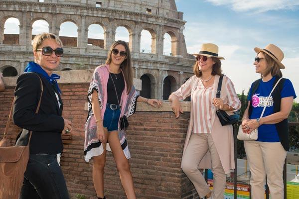 3Hour Colosseum, Forum an