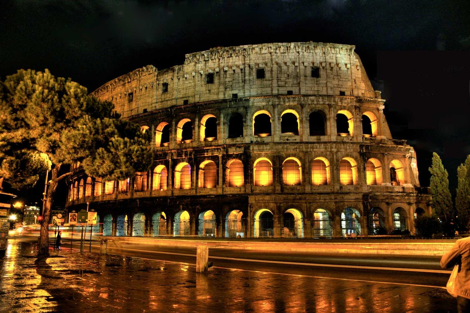 Rome By Night Walking Tou