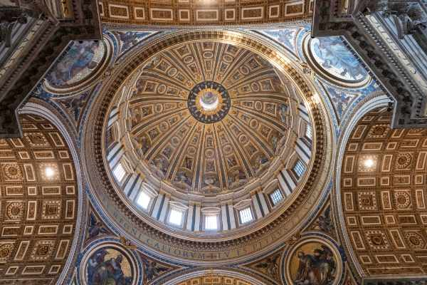 Tour the UNESCO Heritage Site and largest church in the world St. Peter's Basilica. You will learn the history behind this incredible structure and why it's one of the most significant churches in Italy.