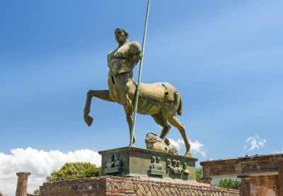 Nach einer kurzen Pause auf Hälfte der Strecke beginnt Ihr Pompeji-Besuch um 11:00 Uhr.