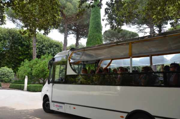Around 1:00 PM your driver will pick you up to ride you back to Rome (dropping you at the same point of the departure).