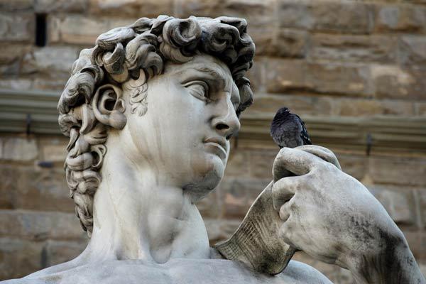 Bien que plus petite que la Galerie des Offices, la Galerie de l'Académie de Florence possède une impressionnante collection de peintures d'artistes Florentins des XIIIe et XVIe siècles de la Haute Renaissance.