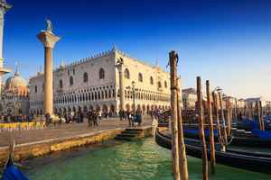 Doge's Palace and St. M